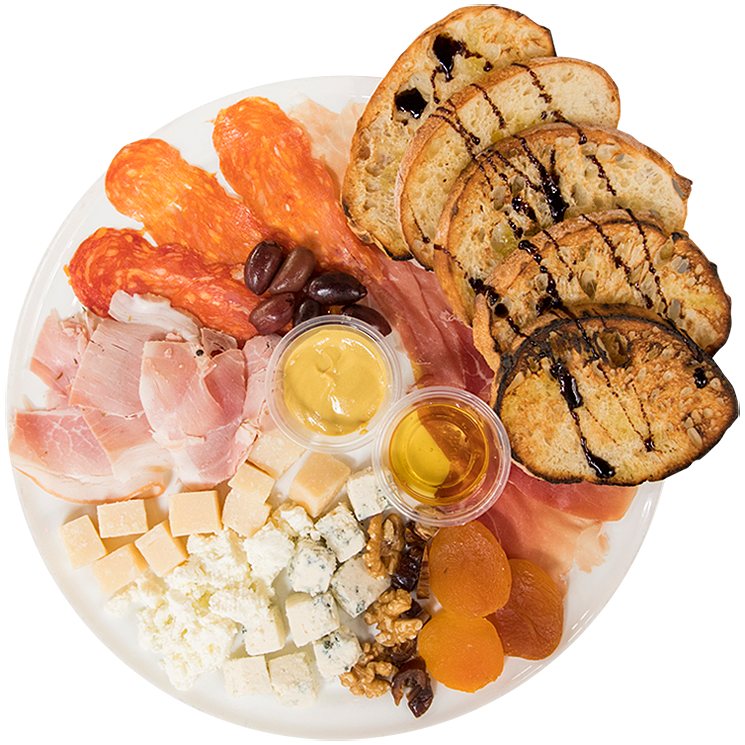 House Meat & Cheese Plate (Serves 2)